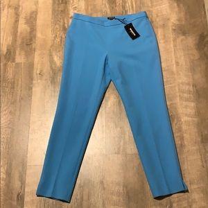 WORTH NWT wool blue pants size 10